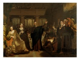 Belshazzar's Feast, 1817-43 Giclee Print by Washington Allston