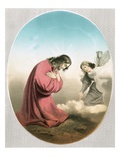 Angel Appearing to Christ Giclee Print by Carlo Dolci