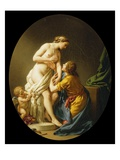 Pygmalion and Galatea, 1781 Giclee Print by Louis Jean Francois I Lagrenee