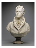 Robert Fulton, C.1804 (Marble) (See also 345578-79) Giclee Print by Jean-Antoine Houdon