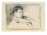 Frank Brangwyn, 1885 (Pencil) Giclee Print by Phil May