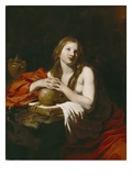The Repentant Magdalene, C.1625 (Oil on Canvas) Giclee Print by Nicolas Regnier