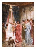 Pilate Sends Jesus to Herod Giclee Print by William Brassey Hole