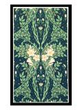 Francesca Wallpaper Design Giclee Print by Walter Crane