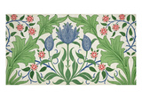 Floral Wallpaper Design Premium Giclee Print by William Morris