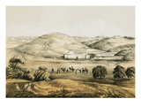 Pools of Solomon with Distant View of Bethlehem Giclee Print by  English