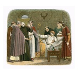 Anselm Made Archbishop of Canterbury by William Ii Giclee Print by James E. Doyle