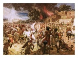 The Death of King Josiah at Megiddo Giclee Print by William Brassey Hole
