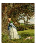 The Talking Oak, 1857 Giclee Print by William Maw Egley