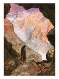 Elijah in the Desert of Horeb Giclee Print by William Brassey Hole