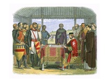 King John Signs the Great Charter Giclee Print by James E. Doyle