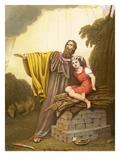 Abraham's Sacrifice Lámina giclée por  English