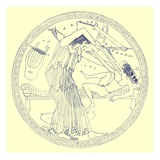 Aedon Slays Itys, Illustration from 'Greek Vase Paintings' by J. E. Harrison and D. S. Maccoll Giclee Print by  English