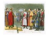 King Henry Iii and His Parliament Giclee Print by James E. Doyle