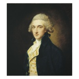 Sir John Edward Swinburne, 1785 Giclee Print by Thomas Gainsborough