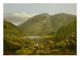 Crow's Nest, 1848 (Oil on Canvas) Giclee Print by Thomas Worthington Whittredge