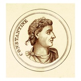 Constantine, Illustration from 'The Universal Historical Dictionary' by George Crabb Published 1825 Giclee Print by  English