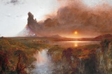 Cotopaxi, 1862 (Oil on Canvas) Giclee Print by Frederic Edwin Church