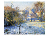 Frost, 1875 (Oil on Canvas) Giclee Print by Claude Monet