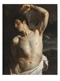 St. Sebastian (Oil on Canvas) Giclee Print by Hippolyte Delaroche