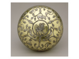 Bowl, 6th-7th Century Ad (Gilded and Carved Silver) Giclee Print by  Sasanian