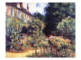 Giverny, the House from the Garden, 1913 Giclee Print by Claude Monet