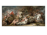 Death on the Pale Horse, 1796 (Oil on Canvas) Giclee Print by Benjamin West