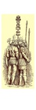 Roman Soldiers, Illustration for 'History of England' by H. O. Arnold-Forster, Published 1897 Giclee Print by  English