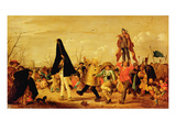 The Carnival (Oil on Canvas) Giclee Print by Adriaen Pietersz. Van De Venne