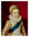 Gaston D'Orleans (1608-60) as a Child Giclee Print by Frans II Pourbus