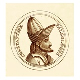 Constantine Paleologus, Illustration from 'The Universal Historical Dictionary' by George Crabb Giclee Print by  English