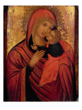 Madonna and Child, C.1650 (Panel) Giclee Print by  Veneto-Byzantine