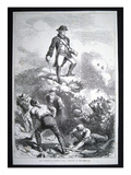 The Defence of Breed's Hill, Prescott in the Redoubt (Litho) Giclee Print by  American