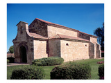 Church of San Juan Bautista, Consecrated 661 (Photo) Giclee Print by  Visigothic