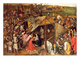 L'adoration des mages Impression giclée par Pieter Brueghel the Younger
