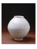 Full Moon' Jar, Early 17th Century (Porcelain with Glaze) Giclee Print by  Korean