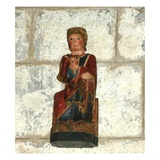 Virgin and Child (Wood) Giclee Print by  French
