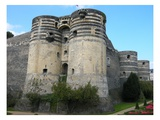 Angers Castle (Photo) Giclee Print