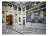 The Rivera Court with the Detroit Industry Fresco Cycle by Diego Rivera (1886-1957) 1932-33 (Photo) Giclee Print