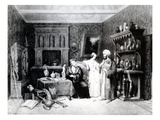 The Antiquary, C.1830 (Litho) Giclee Print by M. Renoux