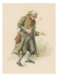 Fagin, Illustration from 'Character Sketches from Charles Dickens', C.1890 (Colour Litho) Giclee Print by Joseph Clayton Clarke