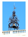 Bell on a Church Roof (Photo) Giclee Print