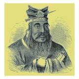 Confucius, Illustration from 'The Illustrated History of the World', Published C.1880 Lámina giclée por English