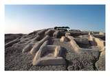 Shahr-E Sukhteh (Burnt City) (Photo) Giclee Print by  Prehistoric