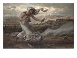 The Cumaean Sibyl, 1876 Giclée-Druck von Elihu Vedder