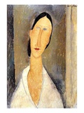 Hanka Zborowska, 1919 Reproduction procédé giclée par Amedeo Modigliani