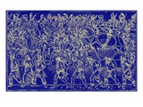 Roman Soldiers and Barbarian Captives Giclee Print by  English