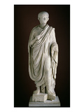 Togate Statue of the Young Nero, C.50 Ad (Marble) Giclee Print by  Roman
