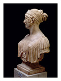 Portrait Bust of Jeanne Delhorme, 1802 (Terracotta) Giclee Print by Joseph Chinard