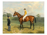 'Ormonde', Winner of the 1886 Derby, 1886 Giclee Print by Emil Adam